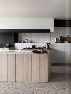 Terrazzo floor in private residence by Frederic Kielemoes