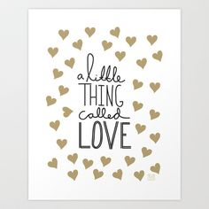 A Little Thing Called Love ❥ | Quote.