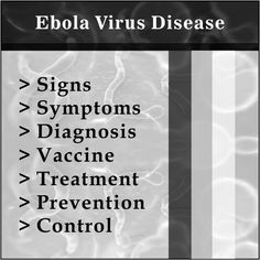 ebola virus symptoms and diagnosis methods Ebola virus — causes, symptoms, diagnosis, treatment, prognosis and prevention the ebola virus has the potential to kill, here is all the information you need about the condition.