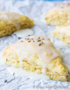 Glazed Lemon Lavender Scones-2