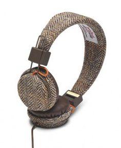 Plattan Tweed Edition Headphones - to match your hunt coat of course!