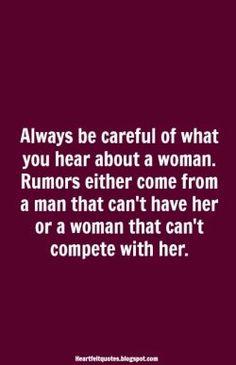 #Rumors | Heartfelt Quotes