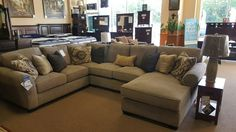 This is a modular Sectional. You can add or remove as many pieces as you need so it fits your living room perfect. Quality Bedding and Furniture in Orange Park features a great selection of quality furniture and mattresses at amazing low prices. Come see us in person or Visit our showroom at 1045 Blanding Blvd in Orange Park.  #Livingroomfurniture #ashleyfurniture #sectionals  www.qualitybeddingfurniture.com