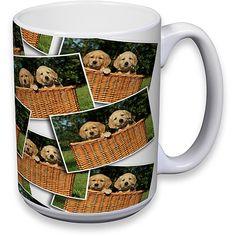 Tiled Photo Mug, 15 oz