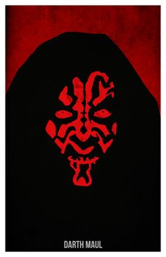 Star Wars Darth Vader Stormtrooper and Darth Maul by PosterForum