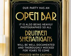 Printable wedding party sign Photo booth Grab a prop and