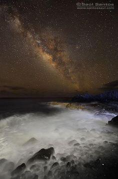 Milky Way Over Isla de La Palma, Canarias - Spain
