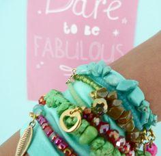 Ibiza Wrap Armband van @Marjolein Feenstra Feenstra van der Weide