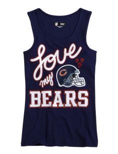 Awesome Bears Tank. @Anisa Arrance NFL® Chicago Bears Tank