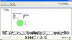 Kernel Data Recovery  Helps to make the corrupted, damaged and inaccessible data from VHD file retrievable yet again