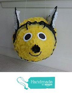 Handmade Bumble Bee Party Pinata https://www.amazon.com/dp/B01HTO45GY/ref=hnd_sw_r_pi_dp_BJLDxbT23W8Z0 #handmadeatamazon