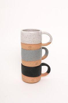 Handmade Matte Handle Mug 10oz by Willowvane - Durham, NC
