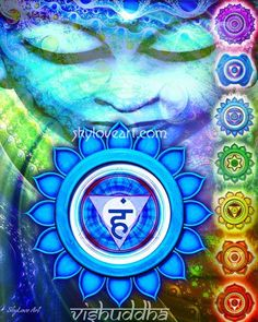 .The throat or fifth chakra is driven by the principle of expression and communication. #chakras  #throatchakra