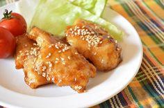 節約!鶏むね肉で!「鶏肉の梅マヨ照り焼き」  スイーツ男子の簡単料理レシピ