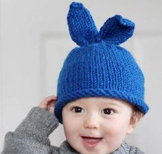 Baby Bunny Rabbit Hat Knitting Pattern