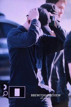 JungKook no Aeroporto de Incheon indo para Singapura [030817]