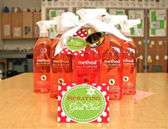 3 Project Nursery readers will win a  prize package each of Project Nursery's holiday cleaning picks by method. #giveaway #cleanhappy