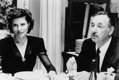 """Fanny Ardant and Philippe Noiret in """"La famiglia"""" di Ettore Scola (1987)"""