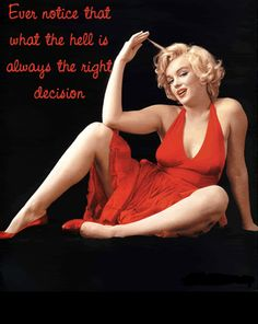 """A wise girl knows her limits, a smart girl know she has none"" -Marilyn Monroe #quotes"