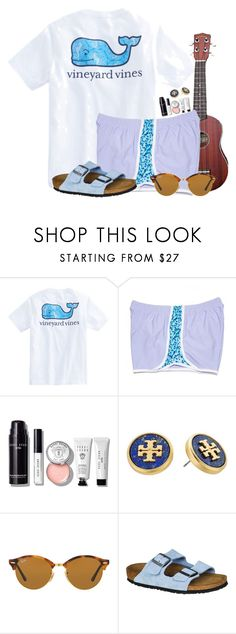 """""""✨ shine like the stars ✨"""" by flroasburn on Polyvore featuring CO, Bobbi Brown Cosmetics, Tory Burch, Ray-Ban and Birkenstock"""