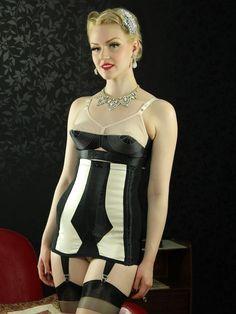L3022 Marlene Girdle - Lingerie, Vintage Lingerie, 1950s Style Lingerie, Girdles, Waist Cinchers, Suspender Belts, Knickers   What Katie Did