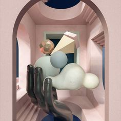 3D – Ballpit – Connecting Artists