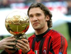 ANDRIJ SHEVCHENKO  winner fifa ballon d'or 2004