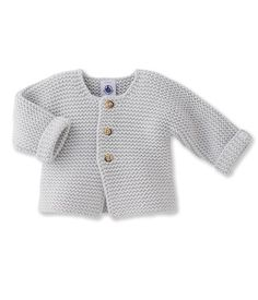 Cardigan bébé en tricot laine et coton Petit Bateau Bébé, Gilet Bebe  Garcon, Gilet 7171e87054b