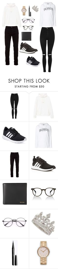"""""""TRAVEL SHOP"""" by reka15 on Polyvore featuring Topshop, MANGO MAN, adidas, Calvin Klein, Marcelo Burlon, Paul Smith, Oliver Peoples and Uniform Wares"""