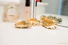 Inspired Idea: Oyster Shell Trinket Trays