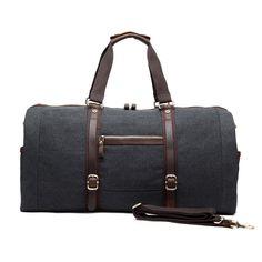 eBay  Sponsored Travel Large-capacity Handbags Single Shoulder Casual  Canvas Luggage Men s Bags Mens ddb9e6cc59228