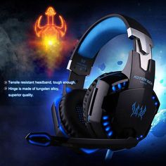 hot sale online f364e c776d 3.5mm Gaming Headphone with Microphone Headset for PC Mac Laptop PS4 Xbox  One  ps4