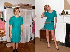 DIY Tutorial: Clothes Refashion / diy clothes reconstruction - Bead&Cord