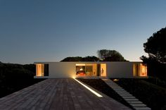 Minimalist House Design in Melides by Pedro Reis, Portugal