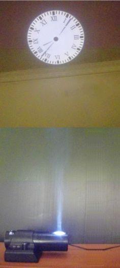 4th Gen Led Romantic Projector Wall Clock Cold Light