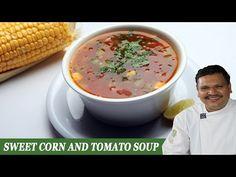 Sweet Corn & Tomato Soup