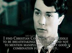 Tom riddle Christian coulson