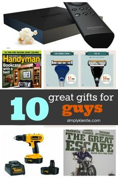 10 Great Gifts For Guys