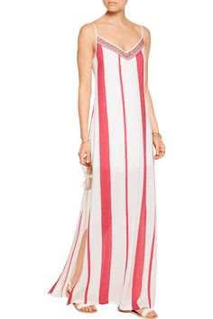 1aaa203c928a Shop on-sale Vix Vicky sequin-embellished crepe maxi dress. Browse other  discount