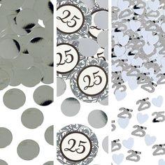 25th Anniversary Confetti 1 1/5oz