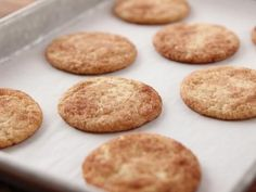 Get Snickerdoodles Recipe from Food Network
