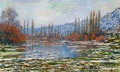 fusionedibanchiaVétheuil(1881)  - Monet Claude (1840-1926) - STAMPA SU TELA € 20,82