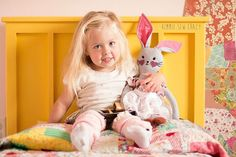 Mila's new best buddy #rachelrabbit #pdfpattern by @mychildhoodtreasures read up about Rachel over at @patternrevolution link to blog post in there profile :) #toys #instatoddler #betterdressedchild #isrw #handmade