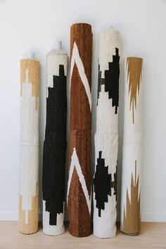 Roll up Pampa rugs