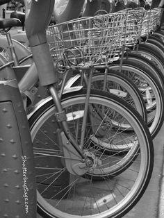 Paris:  Bicycles