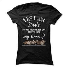 My horse - #hoodies for men #men t shirts. MORE INFO => https://www.sunfrog.com/Pets/My-horse-56737695-Ladies.html?id=60505