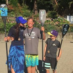 We had so much fun at @roundtherocksuprace in #Seattle! See you at Chucktown Showdown in Charleston, SC on the 17th! #Aztekpaddles #paddleboarding #supracer