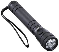 9 in. blackputer machined aluminum with anodized finish and knurled grip. Six 100000 hour lifetime high intensity LEDs. Run time with 6 LEDs is up to 100 hours. Takes 3-C alkaline batteries not included.