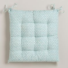 Our Rustic Beryl Green Chevron Chair Cushion Is A Simple Way To Update Your Dining Room Chairs At Nice Price