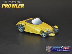 Plymouth Prowler Paper Model by Dave Winfield - Dave's Card Creations © www.cutandfold.info